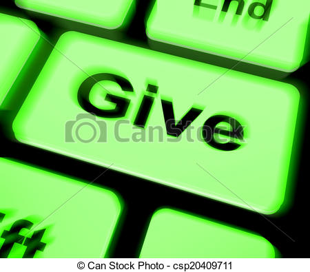 Meaning of clipart in computer image free download Clipart of Give Keyboard Means Bestowed Allot Or Grant - Give ... image free download