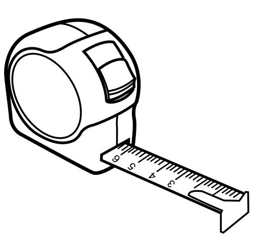 Measuring tape clipart black and white transparent background transparent library Tape Measures Tool Computer Icons Clip art - measuring tape png ... transparent library