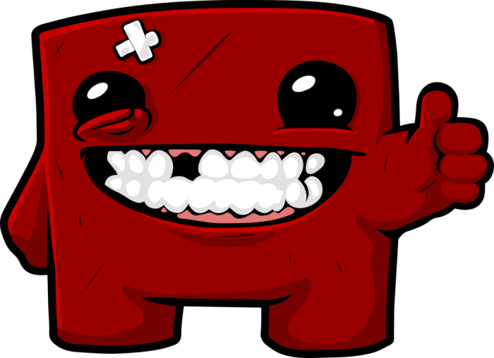 Meat boy clipart picture black and white library Super Meat Boy Logo Png Vector, Clipart, PSD - peoplepng.com picture black and white library