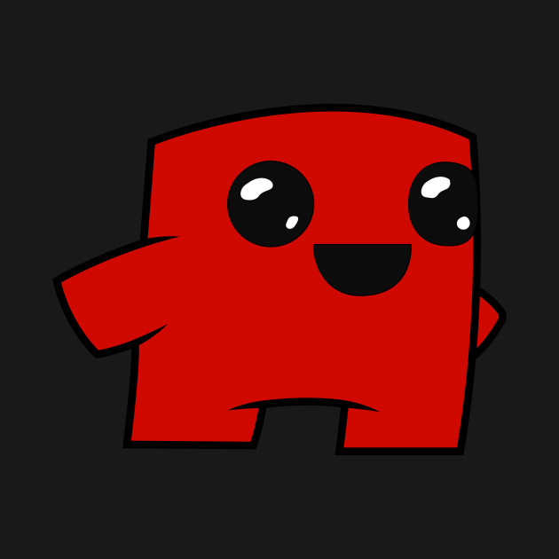 Meat boy clipart vector stock Super Meat Boy Forever vector stock