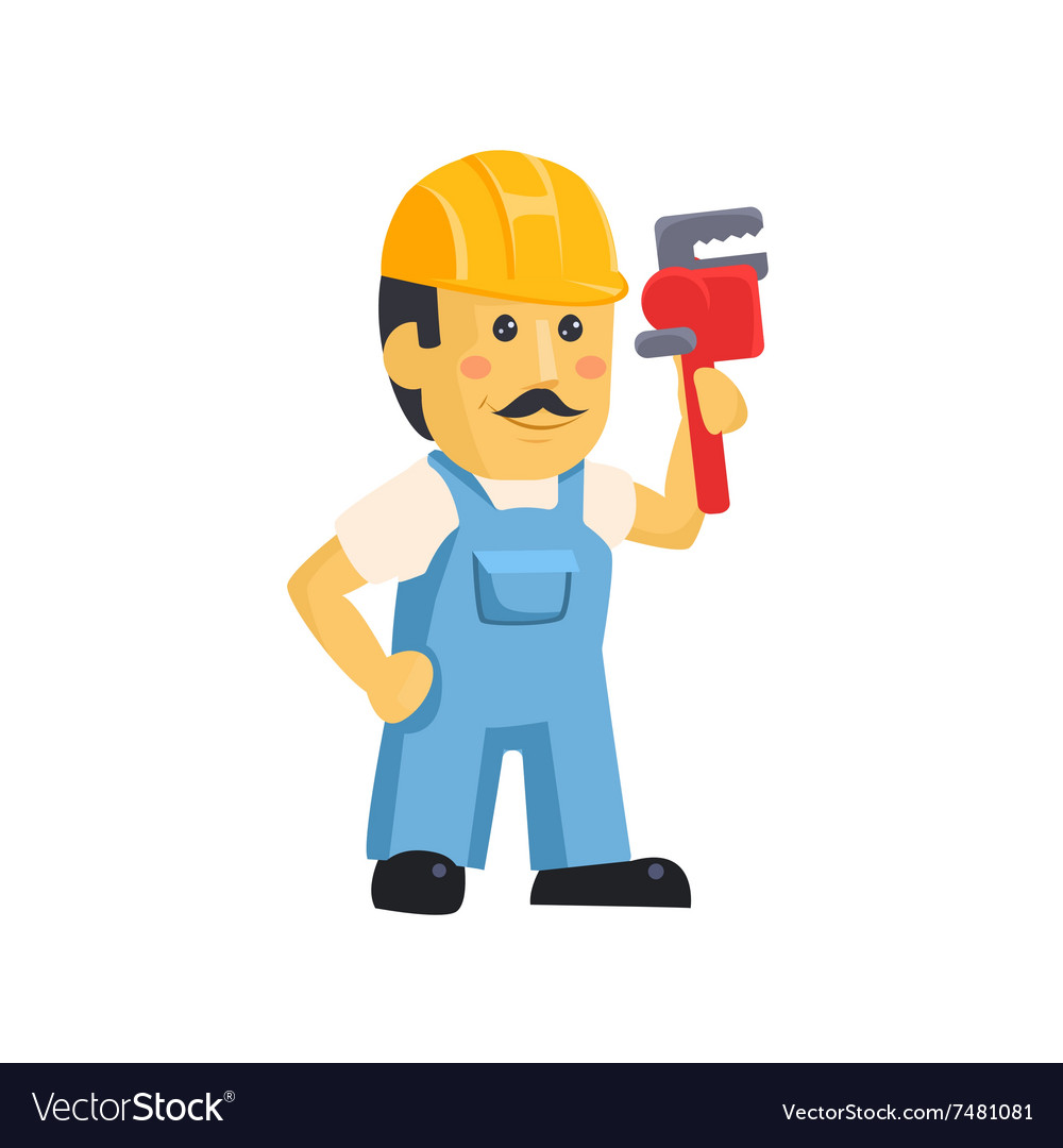 Mechanic clipart images banner free library Clipart picture of a male mechanic cartoon banner free library