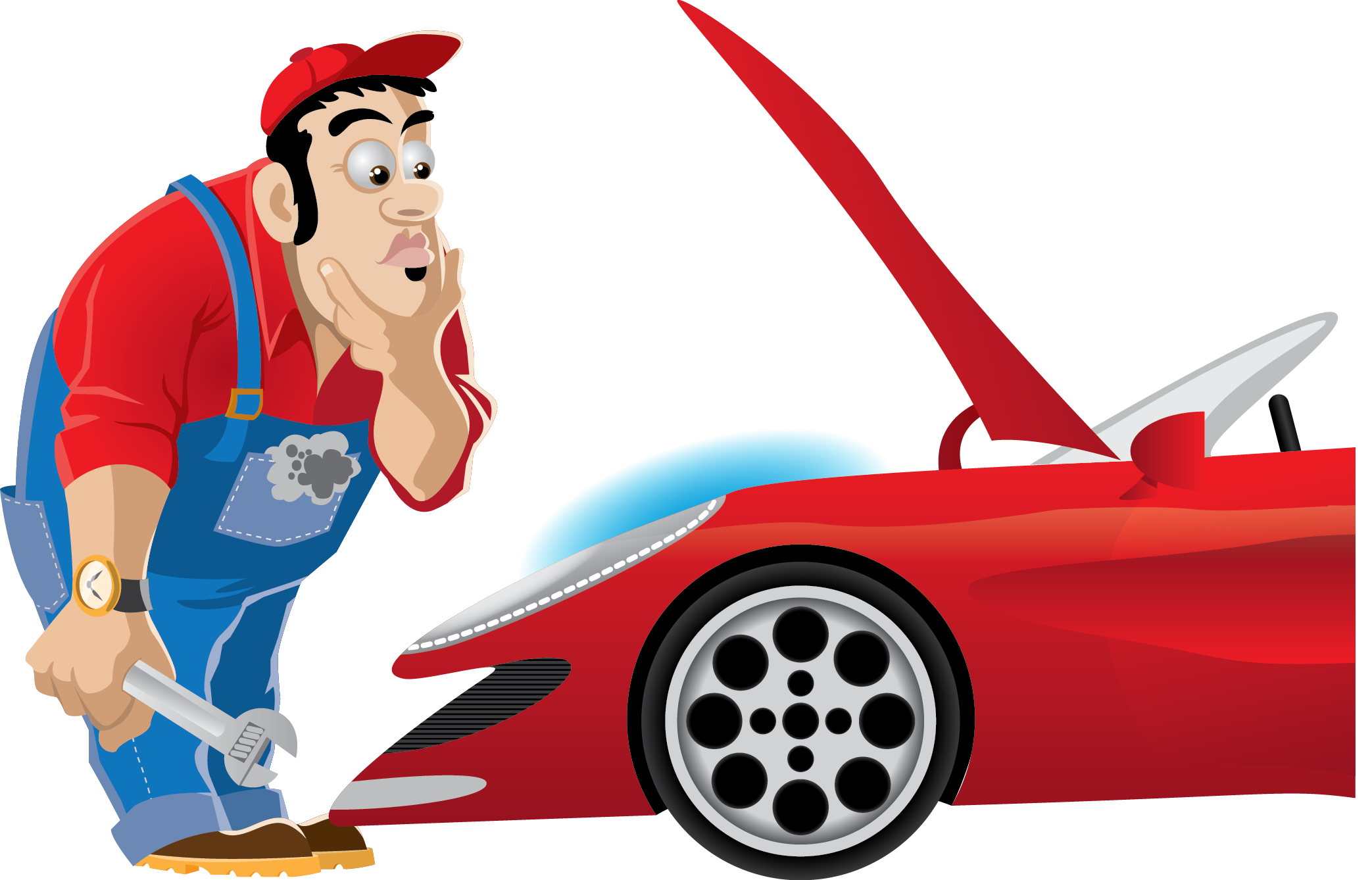Mechanic working on car clipart png library Hocus Pocus, give me fuel to focus! A story for old and young. — Steemit png library