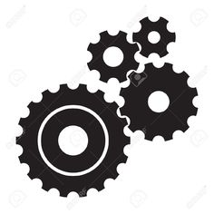 Mechanical clipart vector black and white 8 Best Mechanical Engineer Graphic Ideas images in 2017 ... vector black and white
