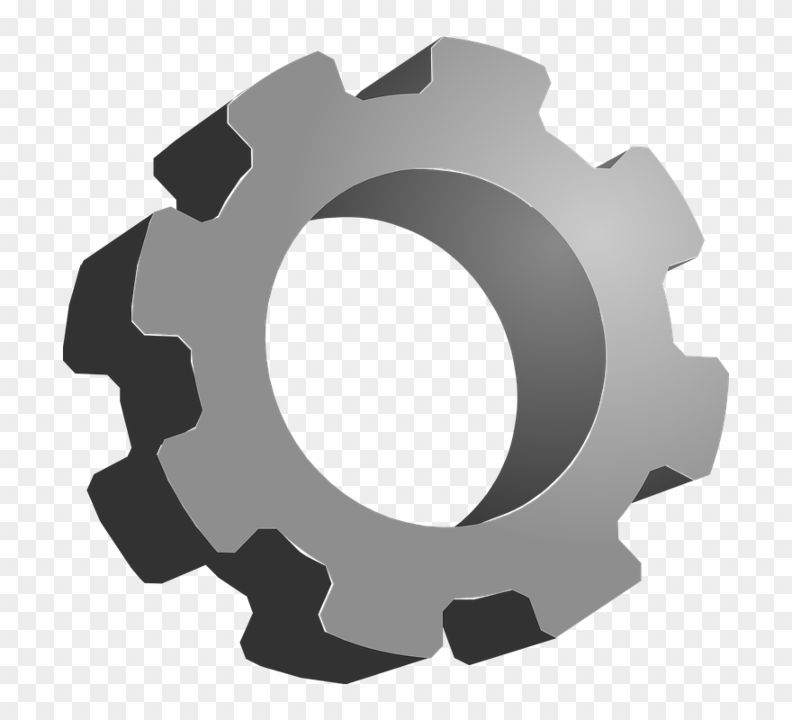 Mechanical clipart vector library stock Gears Clipart Mechanical Gear - 3d Gear Clipart - Png ... vector library stock