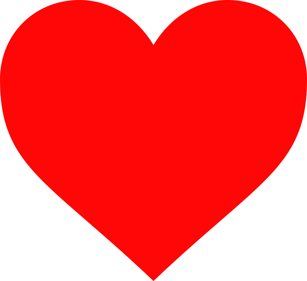 28+ Collection of Red Heart Clipart Png | High quality, free ... clip art transparent stock