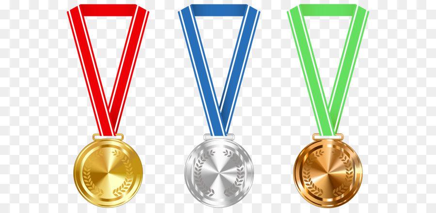 Medaillen clipart vector transparent Gold medal Award clipart - Gold-Silber-und Bronze-Medaillen PNG ... vector transparent