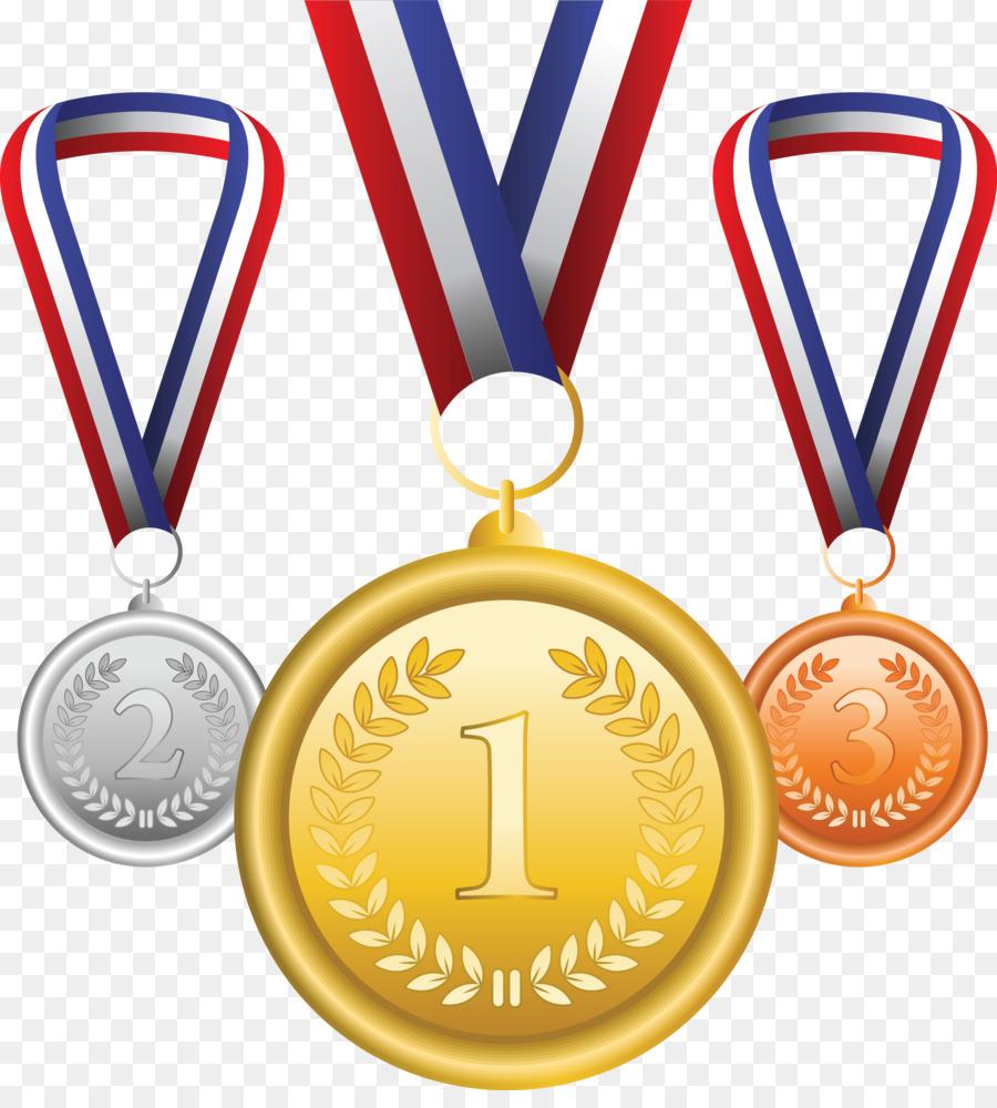 Medaillen clipart banner library Goldmedaille Olympia-Medaille Bronze-Medaille Clip-art - Medaillen ... banner library