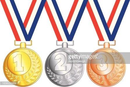 Medaillen clipart free stock Gold , Silber UND Bronze Medaillen premium clipart - ClipartLogo.com free stock
