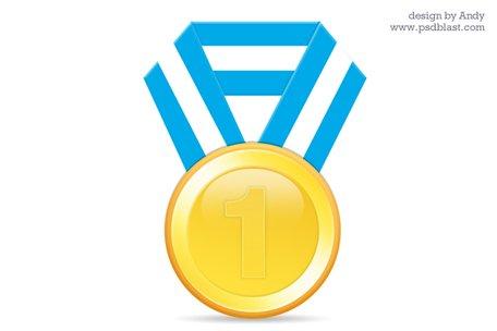 Medalha clipart vector library stock Clipart e gráficos vetoriais de Medalha de ouro PSD & Download ... vector library stock