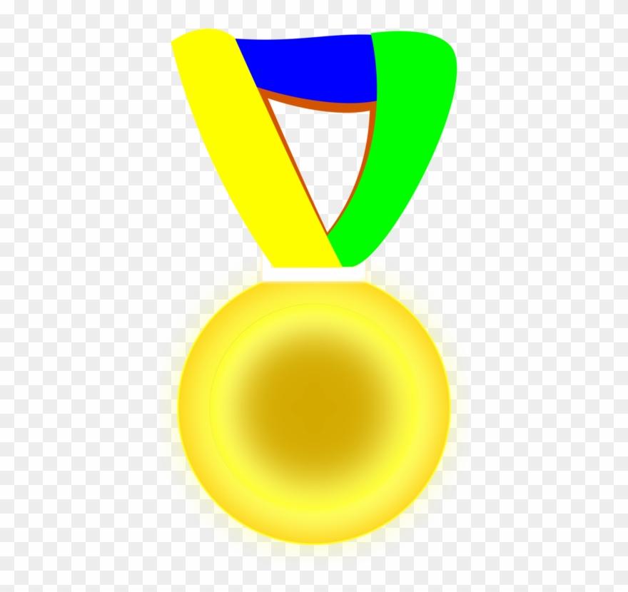 Medalha clipart vector transparent download Brazil Gold Medal Award - Medalha De Ouro Png Clipart (#68217 ... vector transparent download
