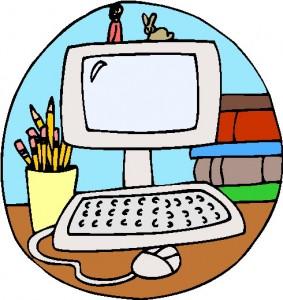 Media center clipart banner black and white stock Library Media Center | Clipart Panda - Free Clipart Images banner black and white stock