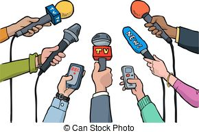 Media clipart graphic black and white Media interview Stock Illustration Images. 5,536 Media interview ... graphic black and white