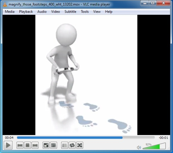 Media clipart for powerpoint transparent Footsteps Clipart And Animations For PowerPoint transparent