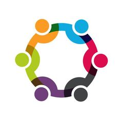 Media logo clipart image royalty free library Social media network people logo - stock vector | Logo vector ... image royalty free library
