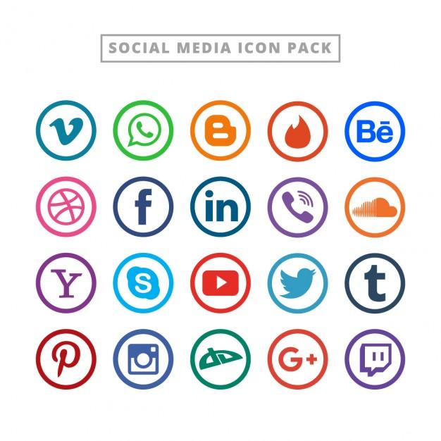 Media logo clipart image freeuse library Facebook logo Icons | Free Download image freeuse library
