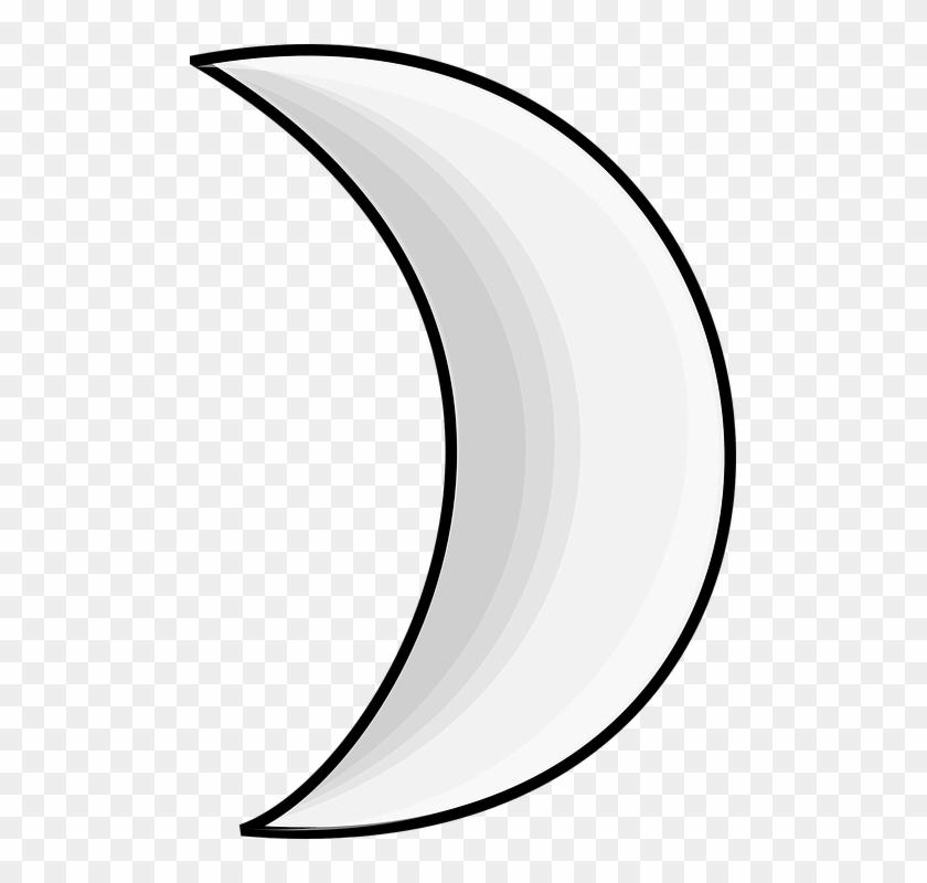 Media luna clipart clipart royalty free Media Luna Png Transparente - Moon Crescent Clipart, Png Download ... clipart royalty free