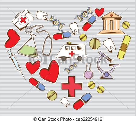 Medical artwork clipart graphic transparent download Vector Clip Art of Love medical equipment csp22254916 - Search ... graphic transparent download