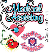 Medical assistance clipart clip art black and white library Medical assisting Vector Clipart EPS Images. 968 Medical assisting ... clip art black and white library