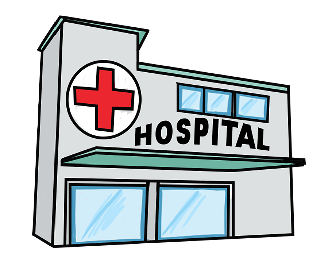 Medical building clipart image black and white download Free to Use & Public Domain Hospital Clip Art image black and white download
