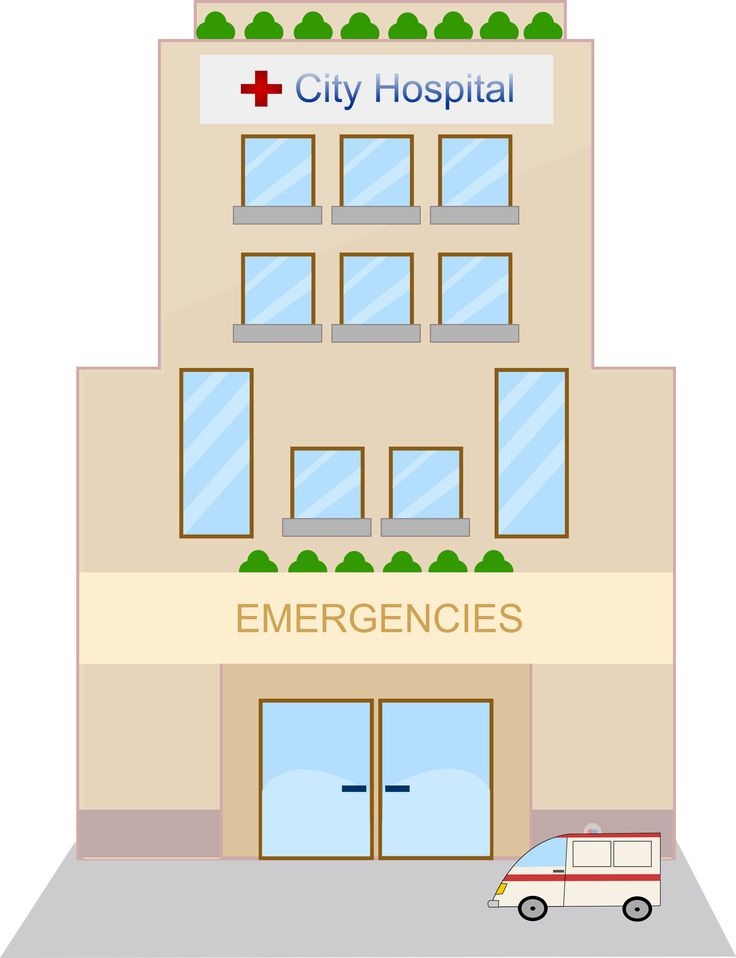 Medical building clipart svg Free Hospital Cartoons Clip Art | hospital3 | VBS Ideals ... svg
