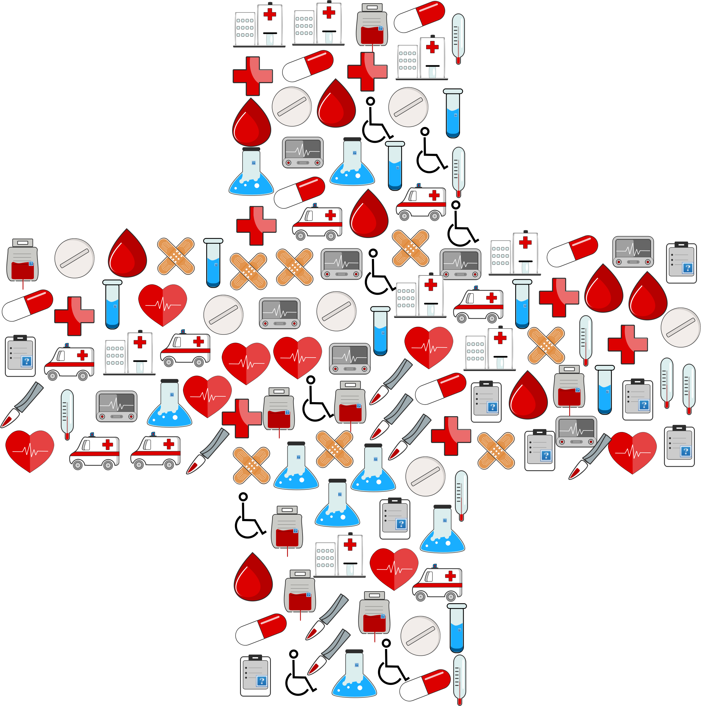 Medical cross clipart svg royalty free stock Clipart - Medical Icons Cross svg royalty free stock