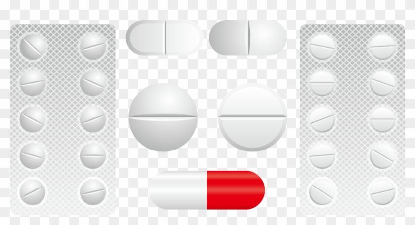 Medicine tablet clipart svg transparent download And Capsules Tablet Capsule Tablets Medicine Clipart - Pharmacy, HD ... svg transparent download