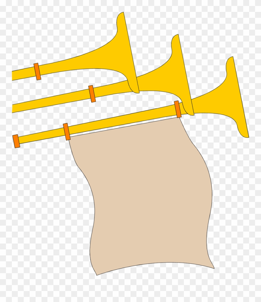 Medieval banner clipart jpg royalty free stock Medieval Banner Clipart - Medieval Trumpet Clip Art - Png Download ... jpg royalty free stock