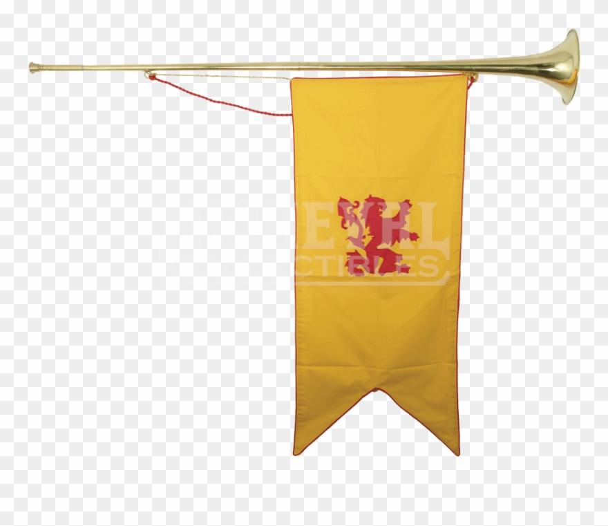 Medieval banner clipart svg Transparent Trumpet Medieval Clip Art Royalty Free - Medieval ... svg
