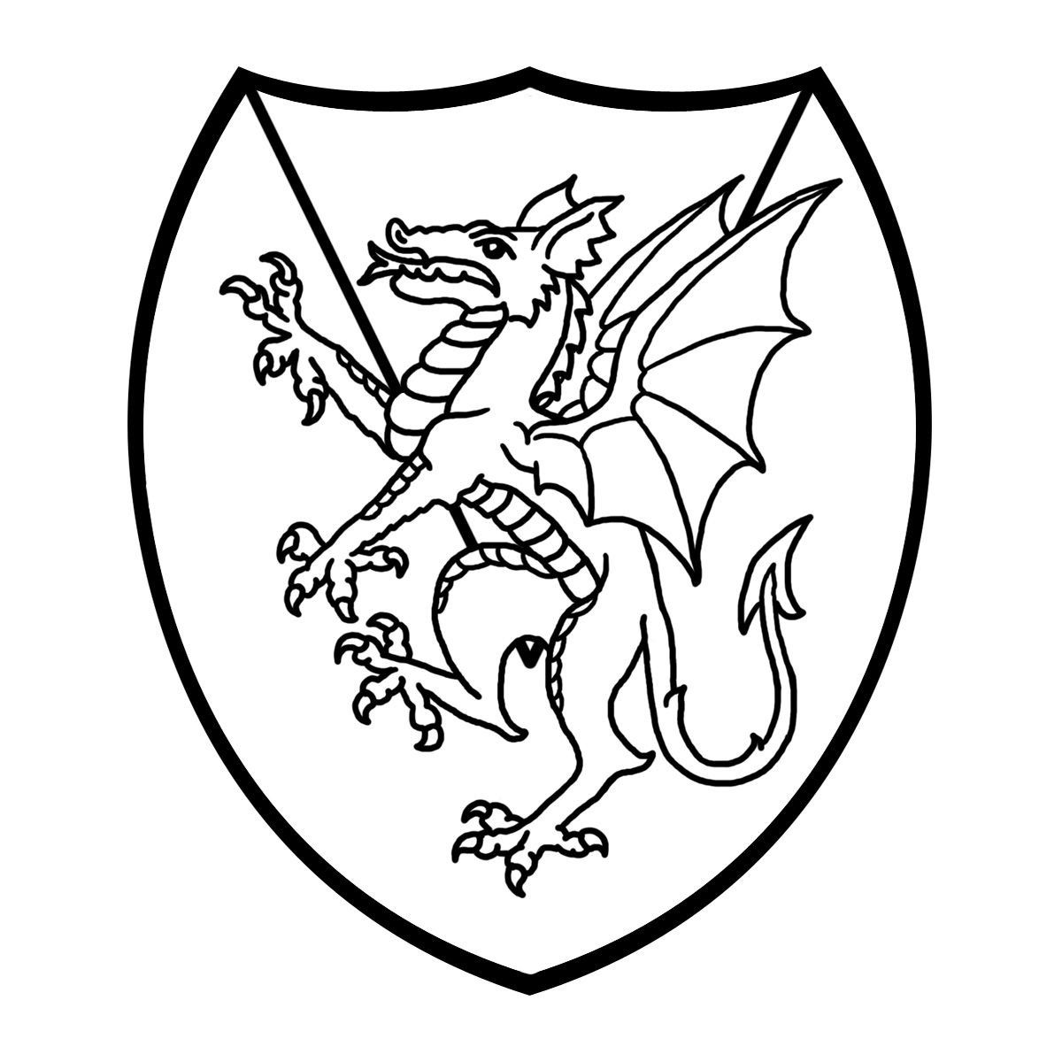 Medieval knights coat of arms black and white free clipart picture transparent download Free Clipart | Clip Art: Medieval History: Knight Grayscale ... picture transparent download