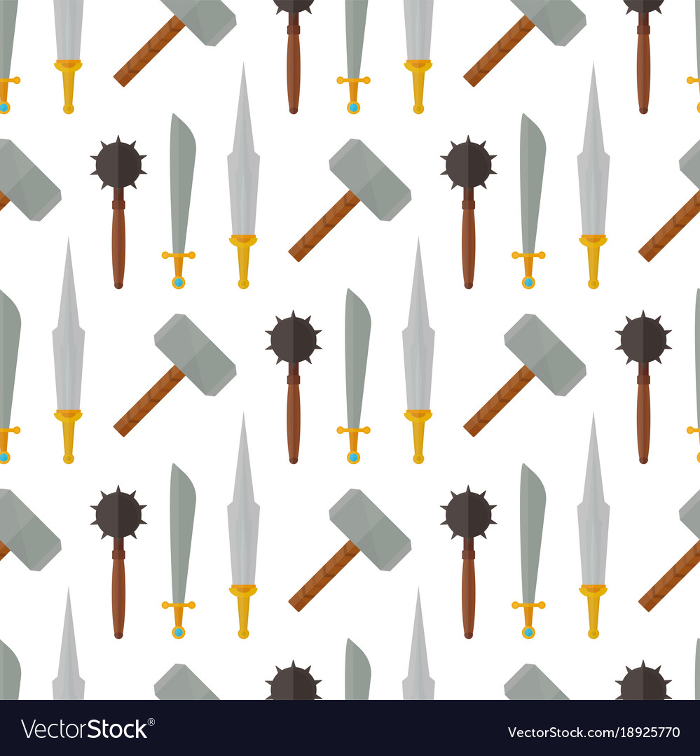 Medieval weapons clipart jpg free library Knights medieval weapons heraldic elements jpg free library