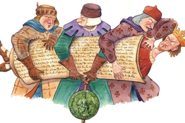 Medievaljudge clipart picture free download Magna Carta: A turning point in English history - History Extra picture free download