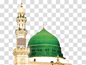 Medina clipart jpg royalty free stock Green dome illustration, Medina Umrah Kaaba Islam, Islam ... jpg royalty free stock