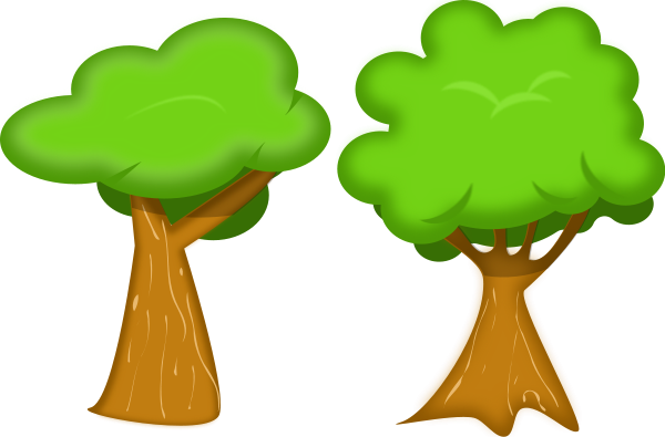 Medium size tree clipart graphic royalty free download Soft trees medium 600pixel clipart, vector clip art - ClipartsFree graphic royalty free download