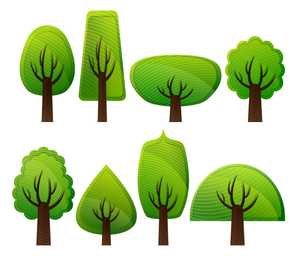 Medium size tree clipart svg library stock Medium size tree clipart - ClipartFest svg library stock