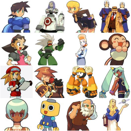Mega man legends clipart clip free library Megaman Legends Series Characters Quiz - By peterpr clip free library