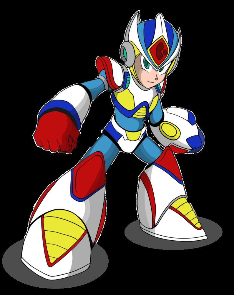 Mega man x2 clipart banner Giga Armor Megaman x2 by AM05 on DeviantArt   Other Fan Art ... banner