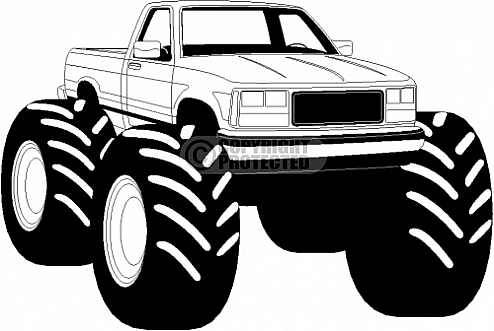 Mega truck clipart banner free download Free clip art of monster truck clipart 8 - ClipartPost banner free download