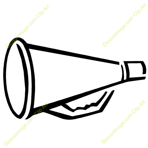 Megaphone clipart black and white banner library download cheerleading megaphone clipart | Diigo Groups banner library download