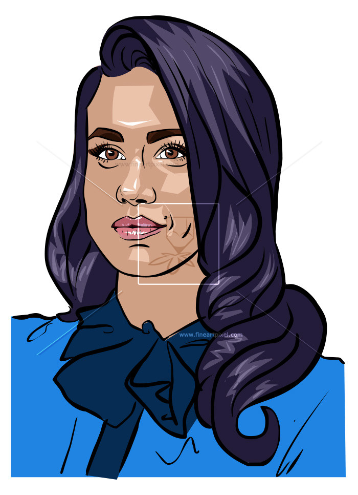 Meghan clipart jpg black and white library Meghan Markle | Free vectors, illustrations, graphics, clipart ... jpg black and white library