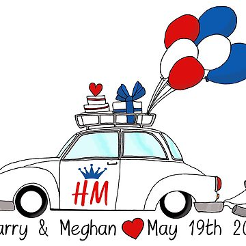 Meghan clipart vector library download Harry & Meghan, the Royal Wedding 2018\