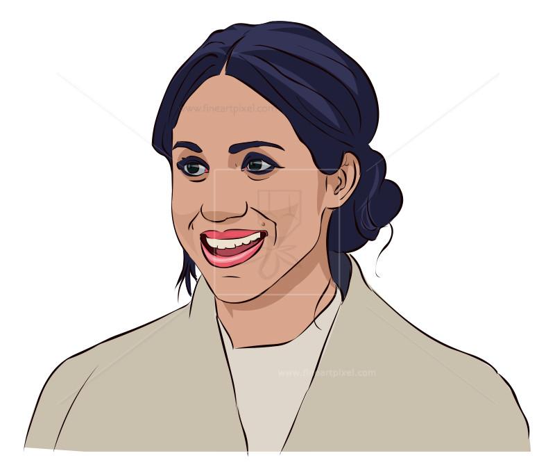 Meghan clipart image Meghan Markle | Free vectors, illustrations, graphics, clipart ... image