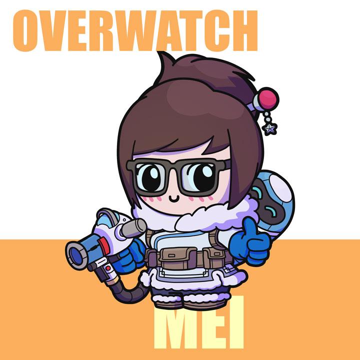 Mei overwatch clipart jpg freeuse Mei clipart overwatch - ClipartFest jpg freeuse