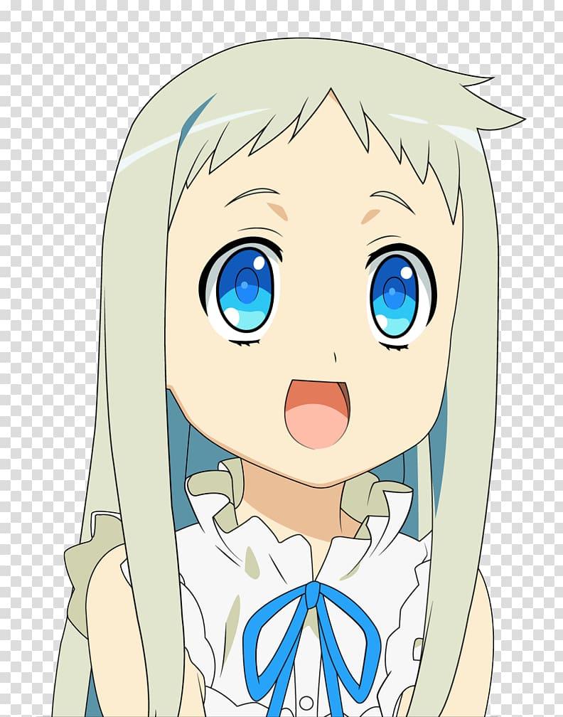 Meiko honma clipart jpg freeuse download Menma Meiko Honma A-1 Manga Anime, others transparent background PNG ... jpg freeuse download