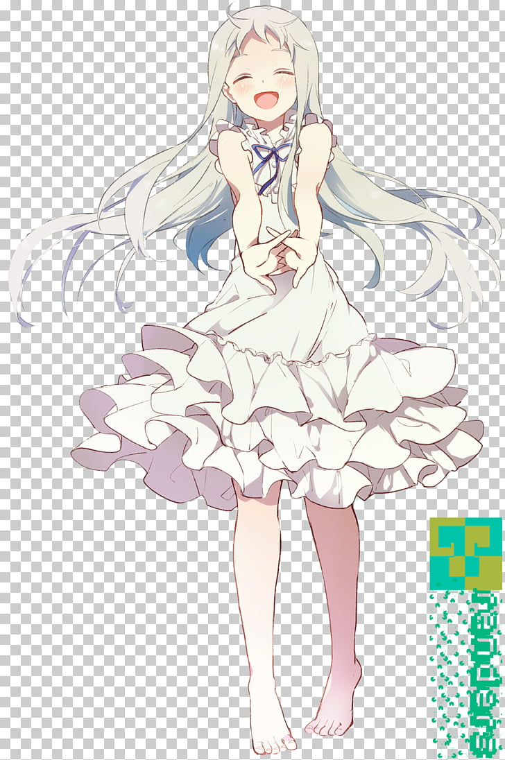 Meiko honma clipart graphic free download Meiko Honma Jinta Yadomi Menma Chiriko Tsurumi Yukiatsu, Anime PNG ... graphic free download