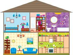 Mein haus clipart vector free download Haus innen clipart - ClipartFest vector free download