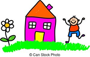 Mein haus clipart clip library download Children playing outside Illustrations and Clipart. 3,019 Children ... clip library download