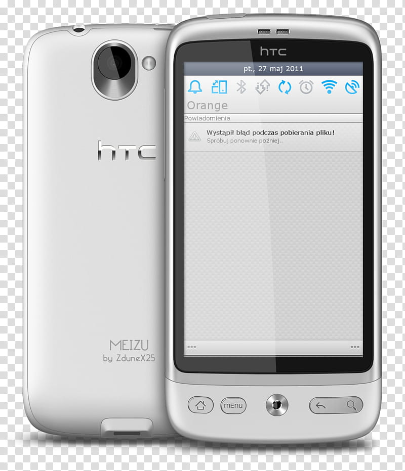 Meizu logo clipart png library library MEIZU V for CM, turned-on HTC smartphone transparent background PNG ... png library library