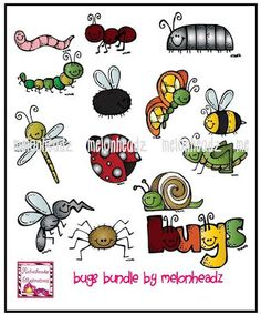 Melonheadz bug spray clipart svg transparent 57 Best { Melonheadz } ::: Animals & Bugs images in 2013 ... svg transparent