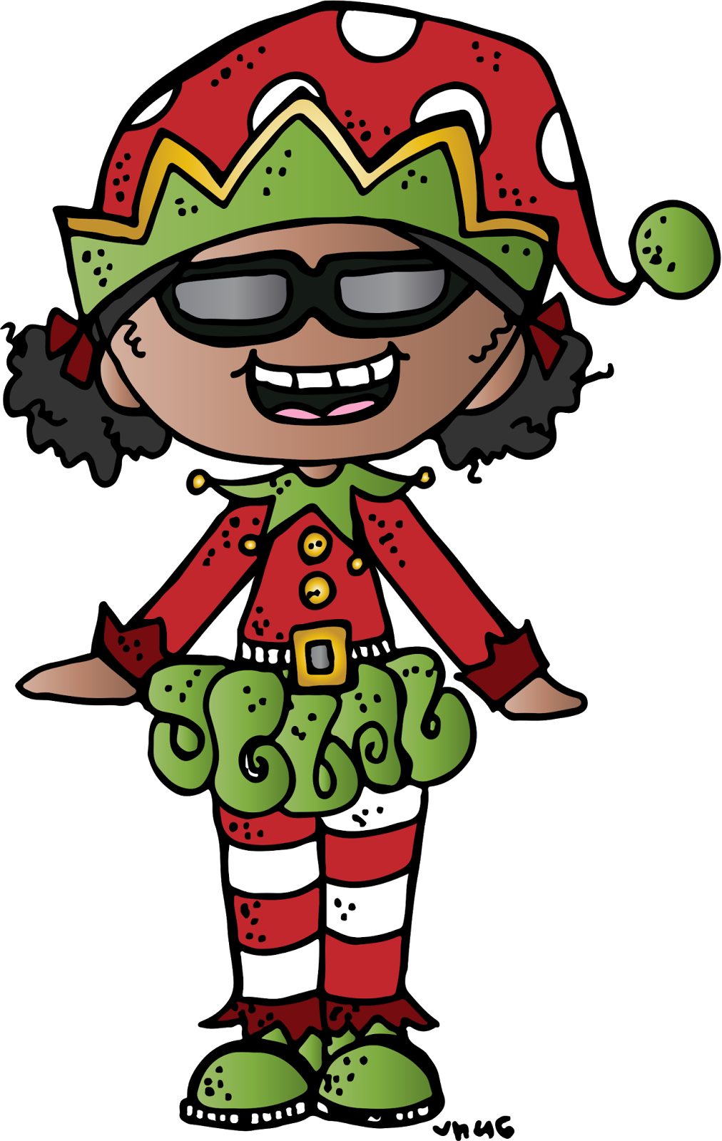 Melonheadz christmas clipart graphic MelonHeadz: Giving Tuesday Winners have been chosen! | Christmas ... graphic