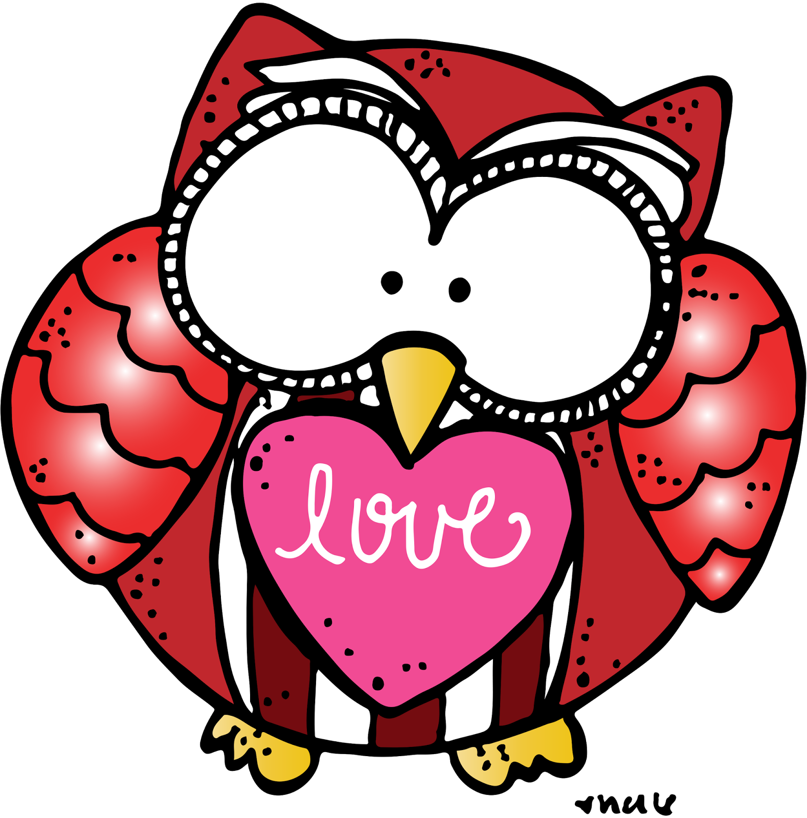 Melonheadz heart clipart vector freeuse MelonHeadz: Meet my friend Michelle / Owl always love you giveaway vector freeuse